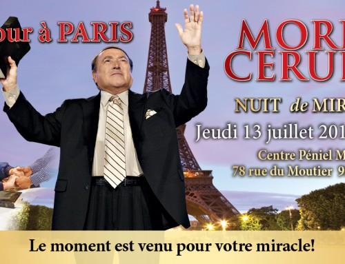 De retour à Paris Morris Cerullo NUIT de MIRACLES